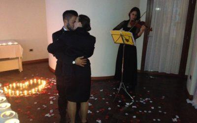 Una Serenata col Violino per farvi dire di sì!