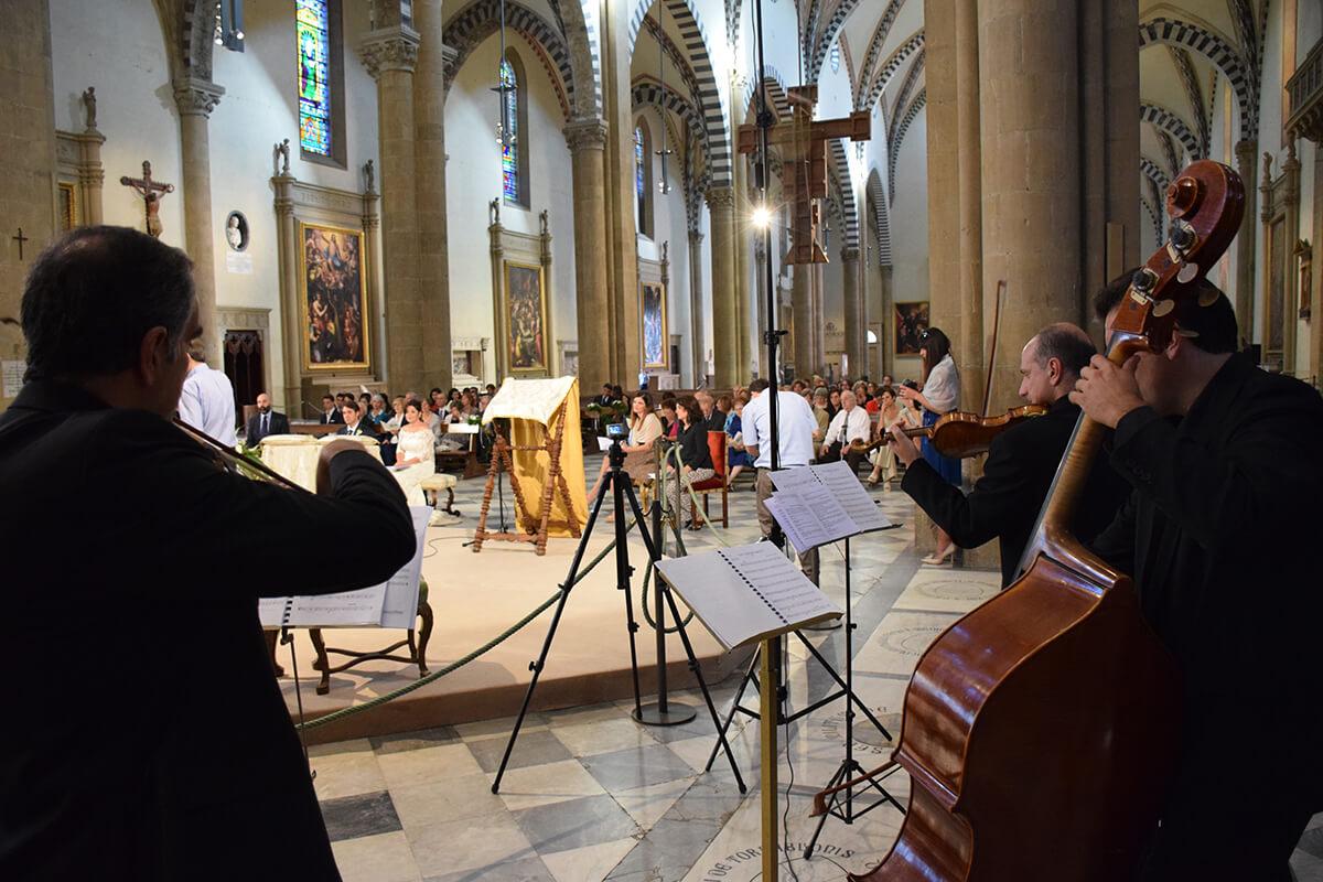 Musica Classica per Matrimonio Firenze
